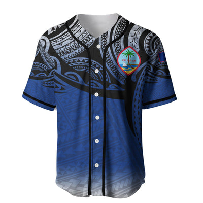 Guam polynesian baseball jersey for hot summer