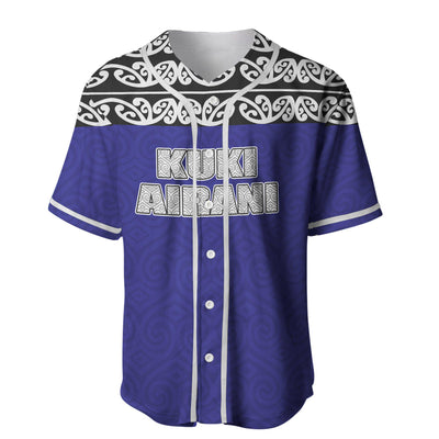 Cook Islands Maori Hoodie Version Baseball Jersey Shirt - luxamz
