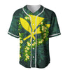 Polynesian Hawaii Ti Leaf Lei Turtle Baseball Jersey Shirt