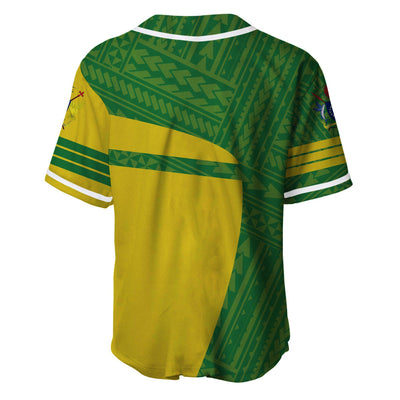 Cook Islands Polynesia Sport Premium Style Baseball Jersey Shirt