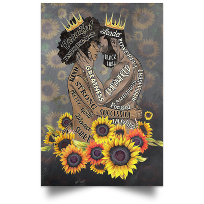 Black King And Black Queen Sunflower - luxamz