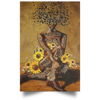 African American - Black Queen Wall Art - luxamz