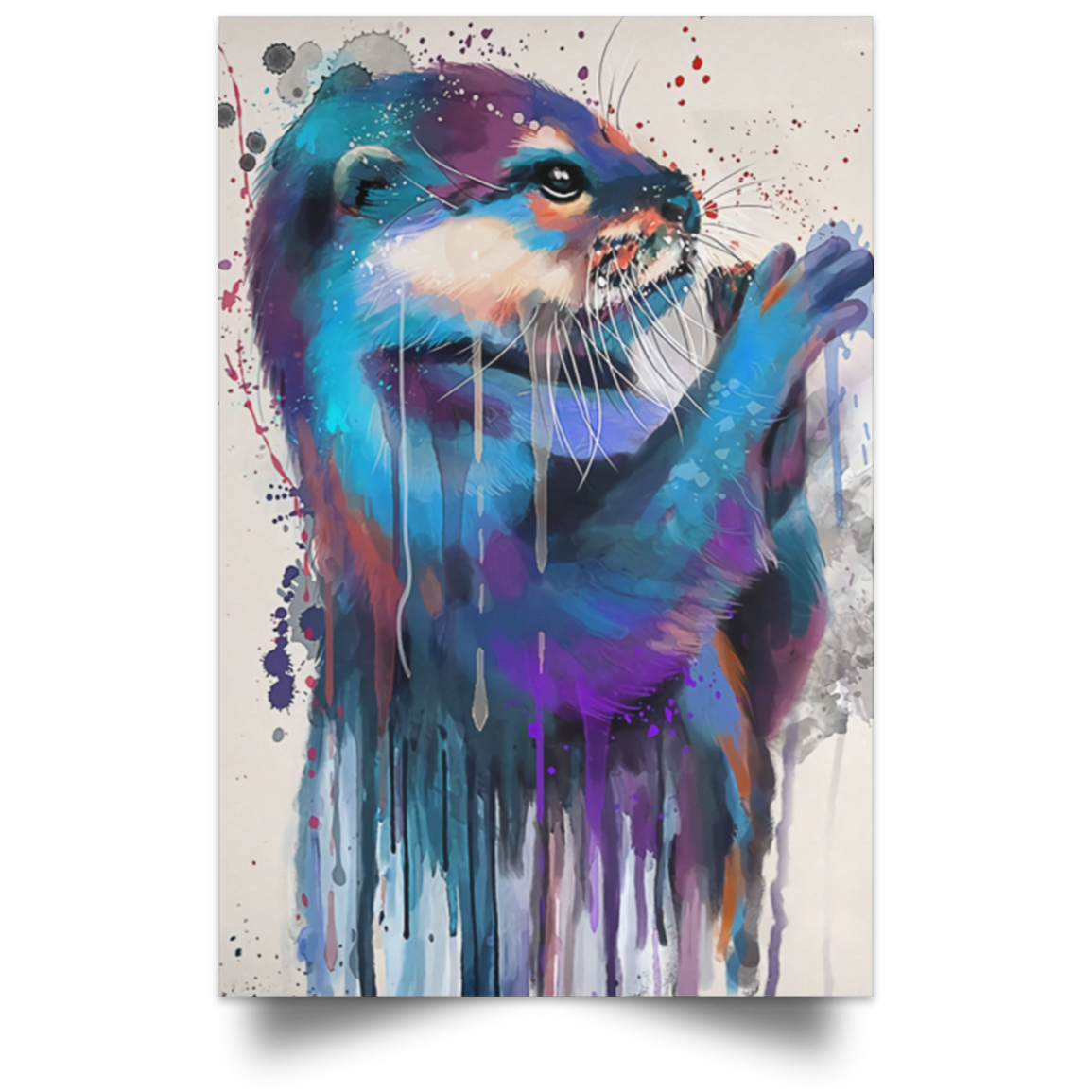 Otter Lovers Gallery Poster