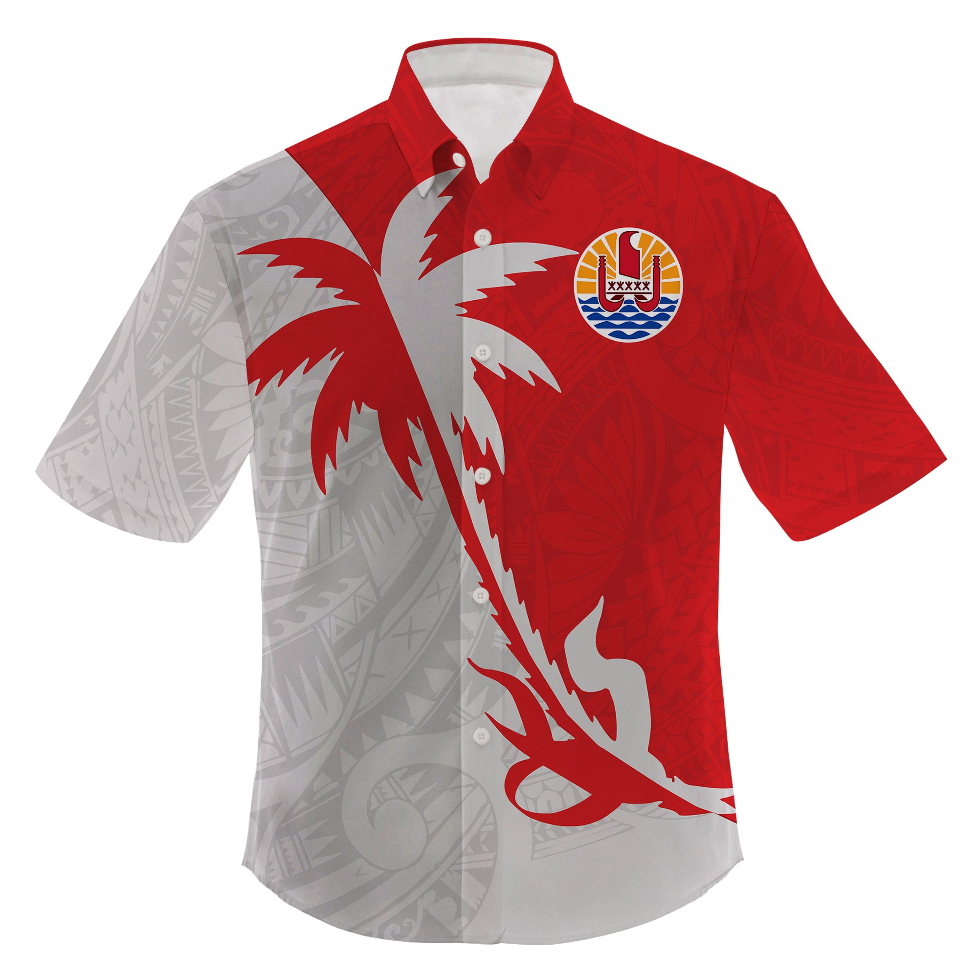 Tahiti Polynesian Coconut Tree Clothing For Hot Summer All Over Print