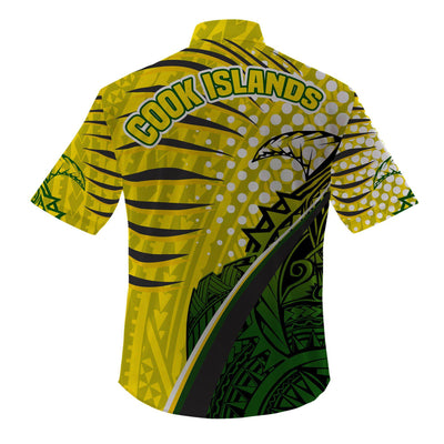 Cook Islands Tides Style Special beach Shirt and Short all over print