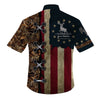AMERICAN DEER HUNTER  HAWAII SHIRT FOR HOT SUMMER - luxamz