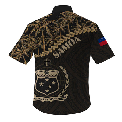 Samoa Golden Coconut Clothing For Hot Summer All Over Print