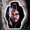 Jon Snow x Ragnar GOT 3D printed