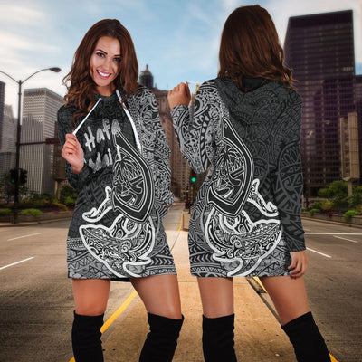 Cook Islands Sweatshirt Polynesian Coat Of Arms Hoodie Dress