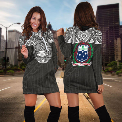 American Samoa And Samoa Polynesian Version Hoodie Dress