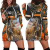 SPREAD STORES DEER HUNTING CAMOUFLAGE HOODIES DRESS - luxamz