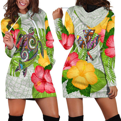 American Samoa Polo Shirt Fall In The Wave Polynesian Hoodie Dress
