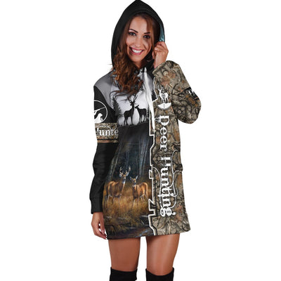 Deer Hunting Hoodies Dress
