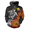 Hawaii Turtle Flowers All Over Print - luxamz