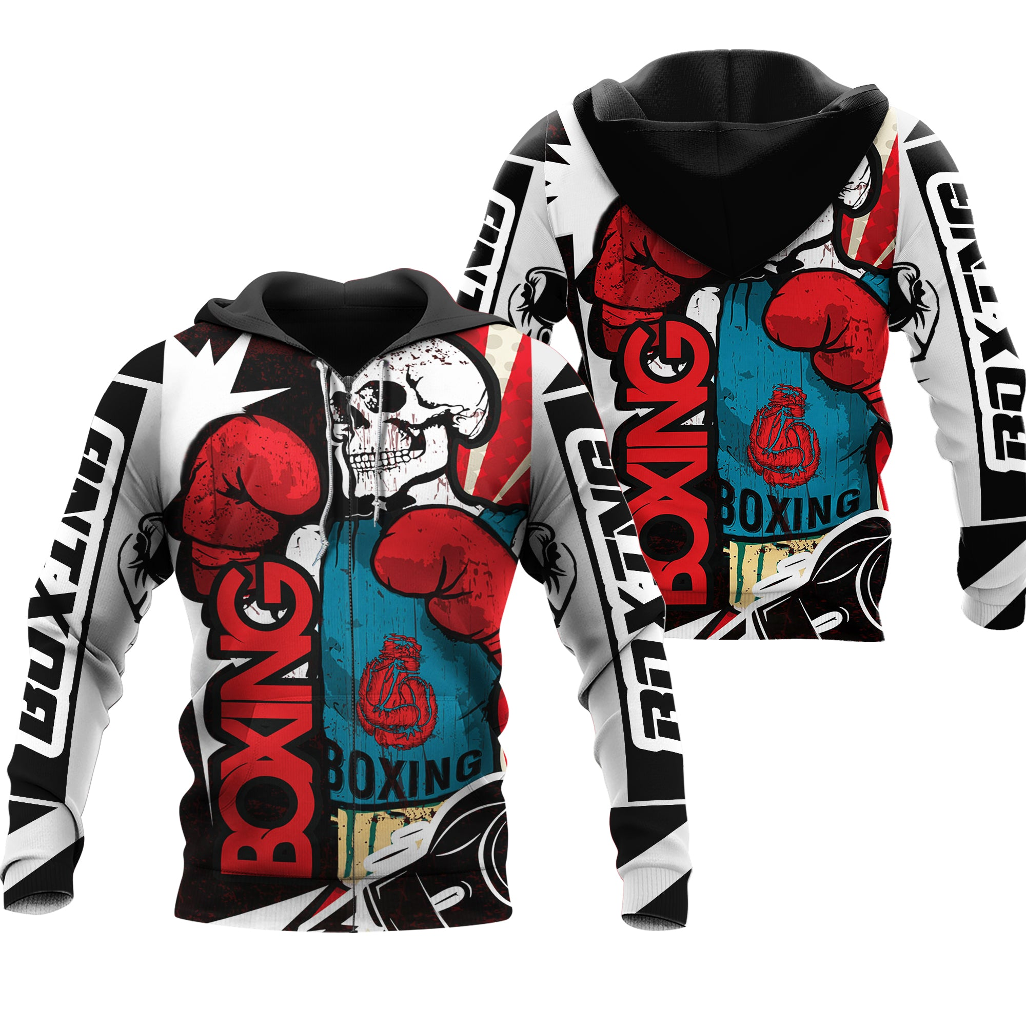 Workout Fitness Boxing Strong Lover All Over Print - luxamz
