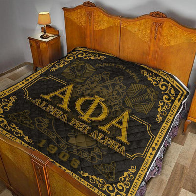 Alpha Phi Alpha 1906 Pattern Quilt All Over Printed
