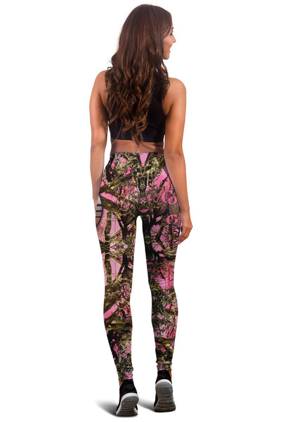DEER HUNTING LEGGING AND TANK TOP ALL OVER PRINT - luxamz