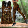 Grim Reaper Hunting Legging And Tank Top All Over Print
