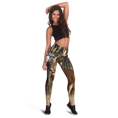 Deer Hunting Legging And Tank Top All Over Print