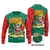 Polynesian Hawaii Ugly Christmas Wool sweater