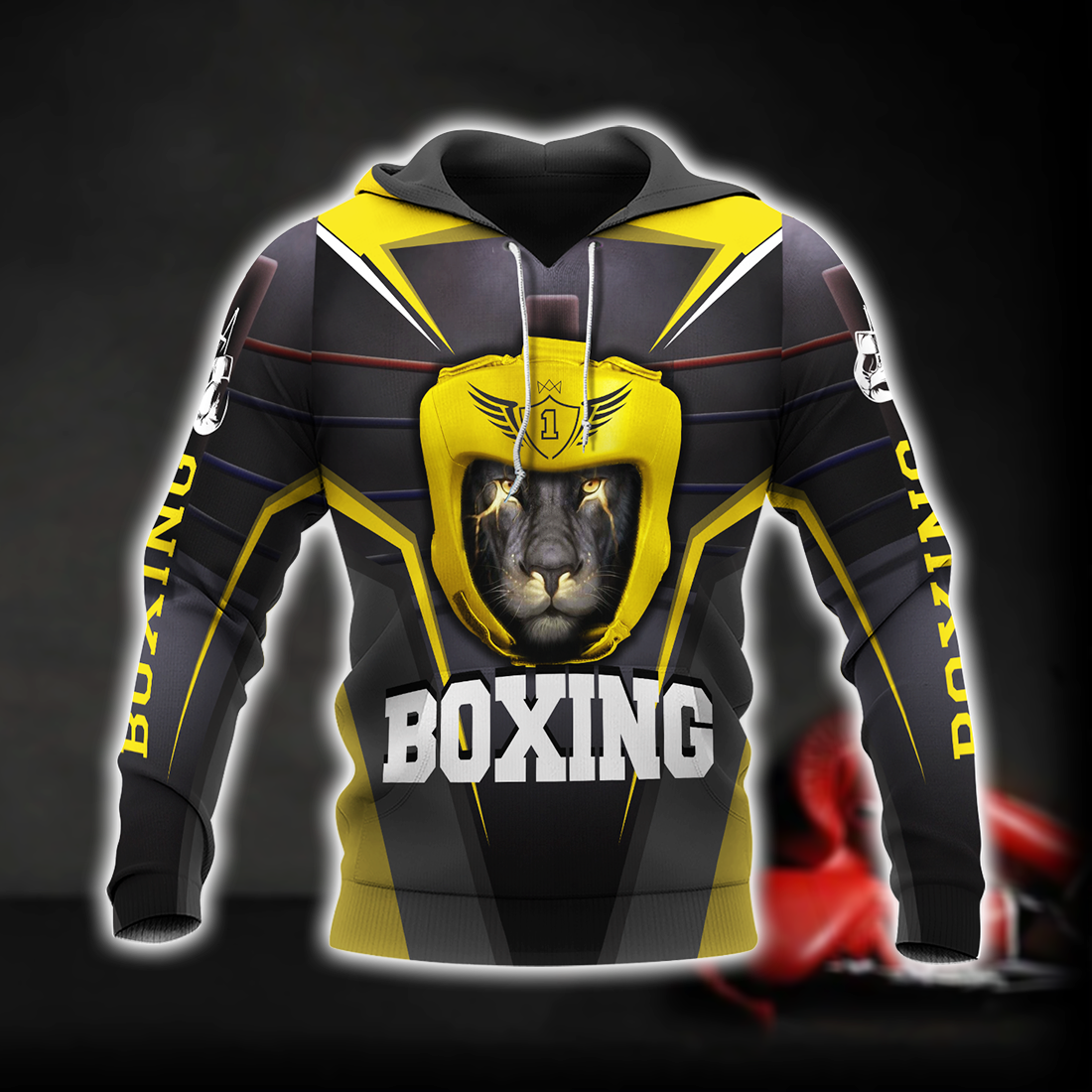 Boxing Lion All Over Print - luxamz