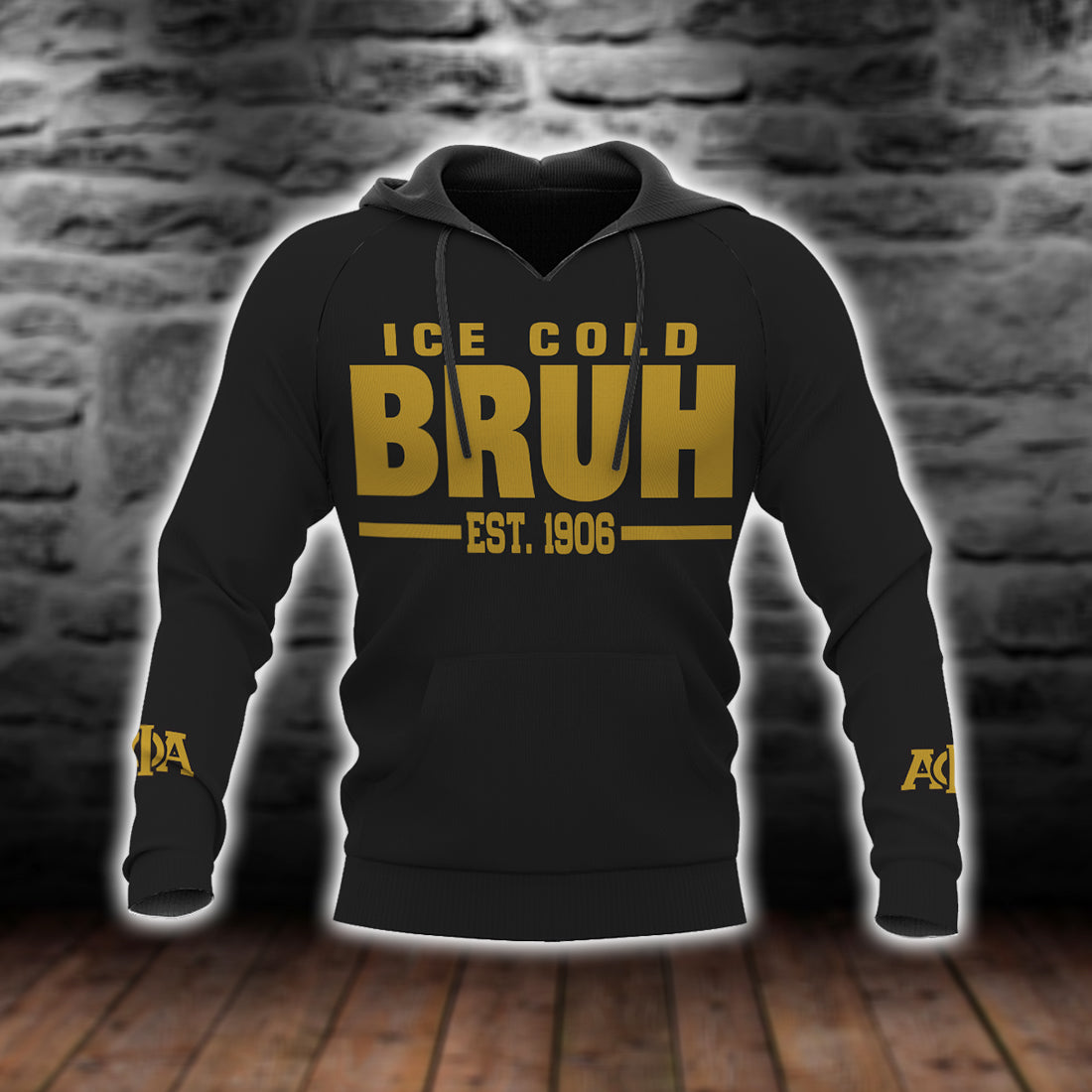Ice cold Bruh Est 1906 alpha phi alpha all over print - luxamz