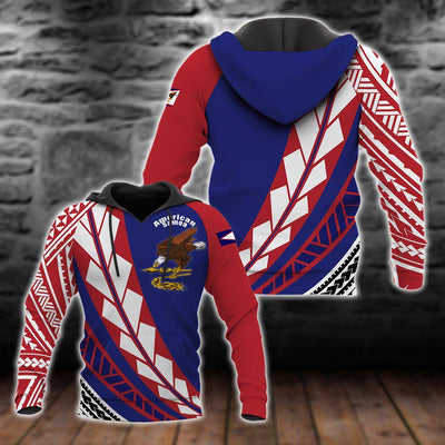 American Samoa Flag Edition Pullover All Over Print