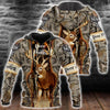 Deer Hunting All Over PrintT Shirts for Men and Women