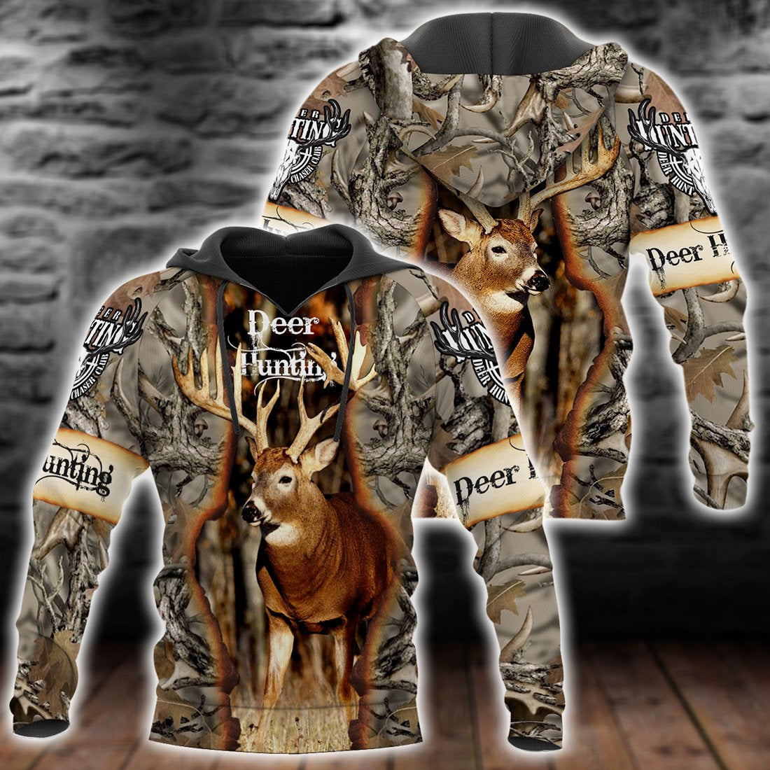 Deer Hunting All Over PrintT Shirts for Men and Women - luxamz