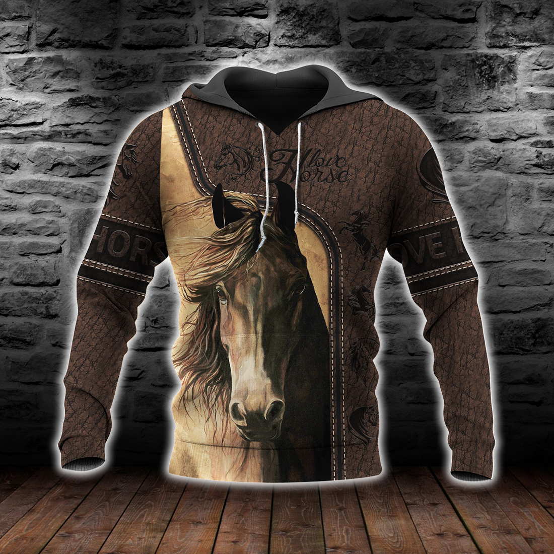 Love Horse 3D All Over Print