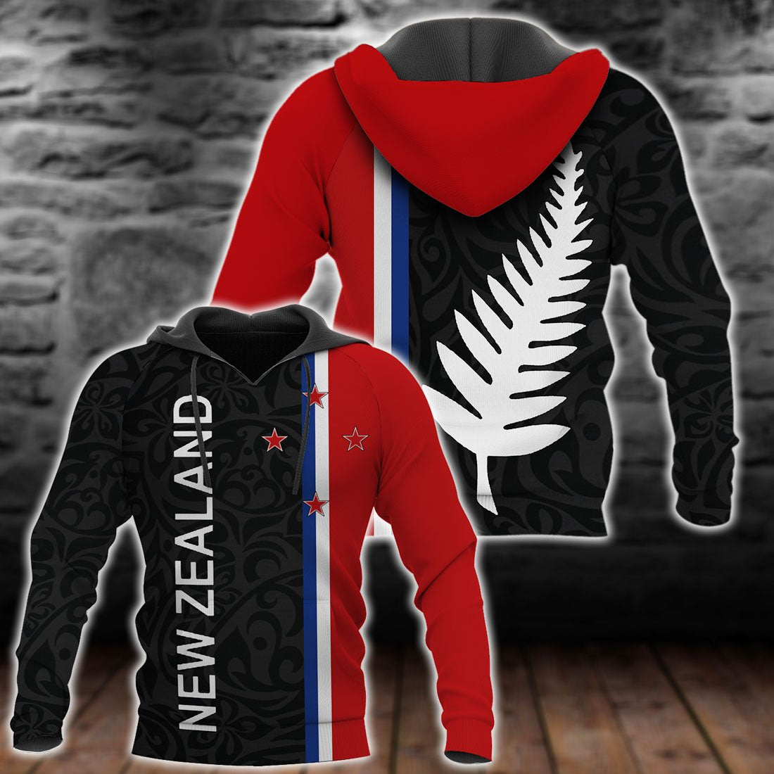 New Zealand All Over Print