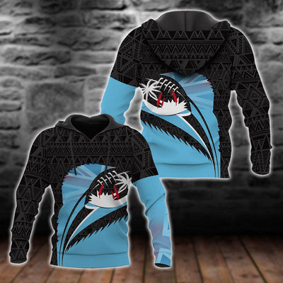 Fiji Spirit of Rugby Off Shoulder Sweater Special ALL OVER PRINT