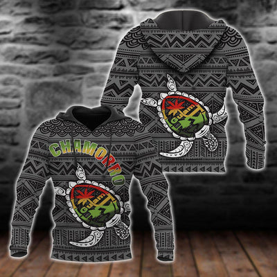 Turtle Guam Seal Chamorro All Over Print
