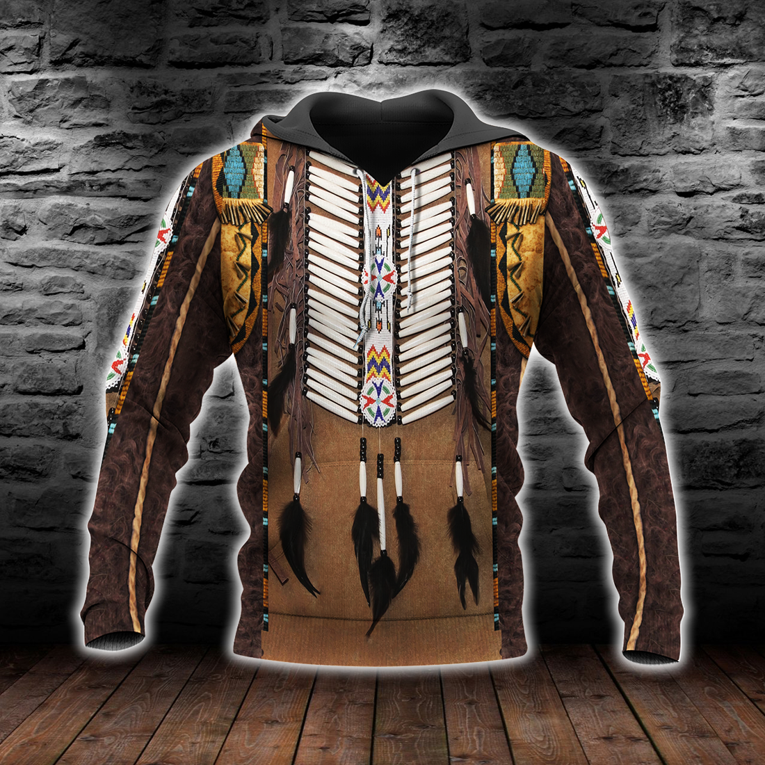 Premium Native American Culture 3D All Over Print