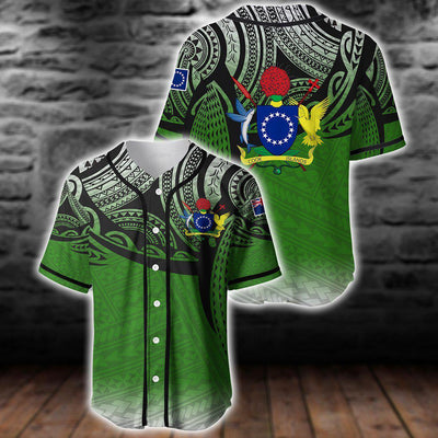 Cook islands baseball jersey for hot summer