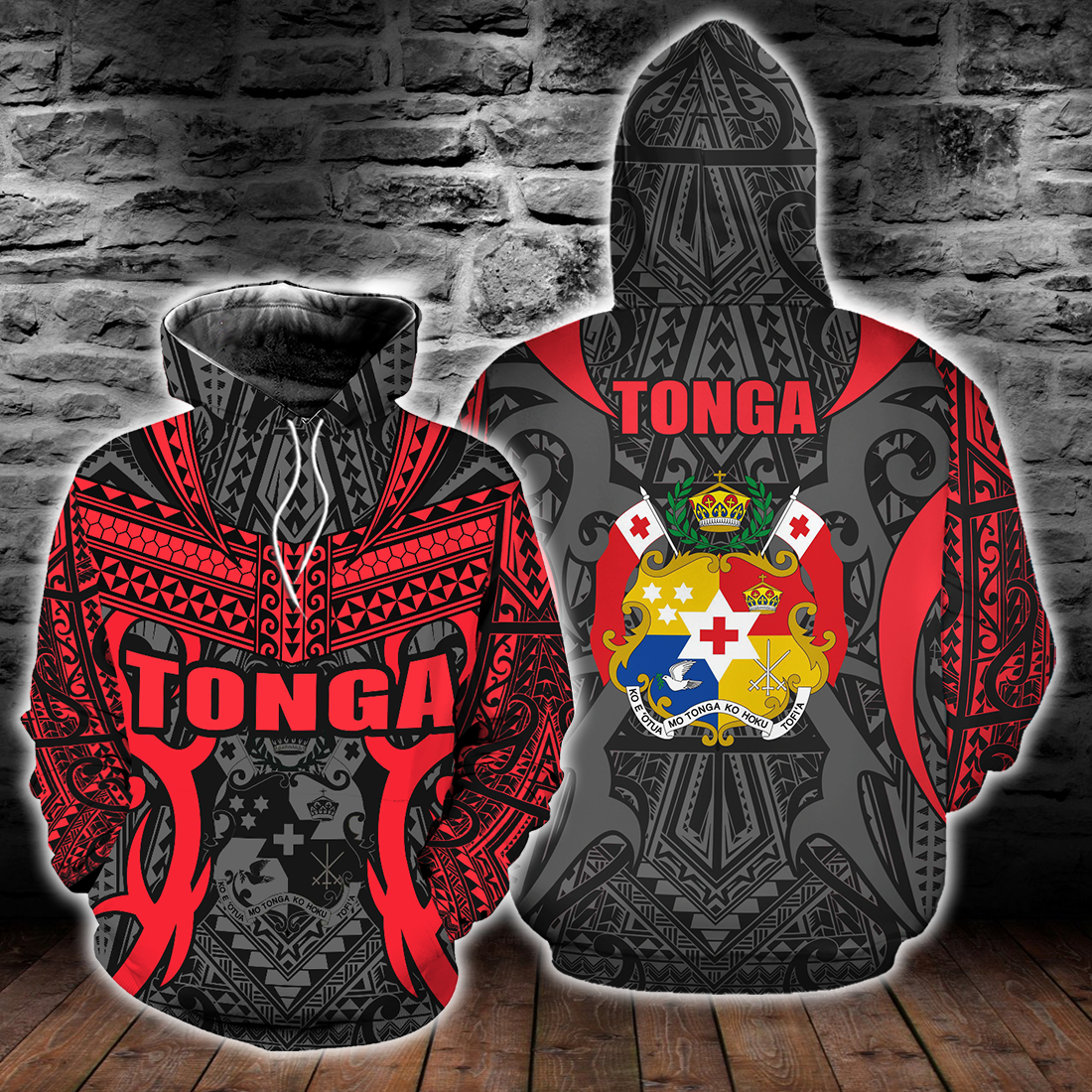 Kingdom of Tonga All Over Print