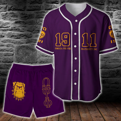limited edition Baseball Shirt and Short all over print - luxamz