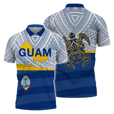 Guam islands Polynesian style Polo Shirt All Over Print