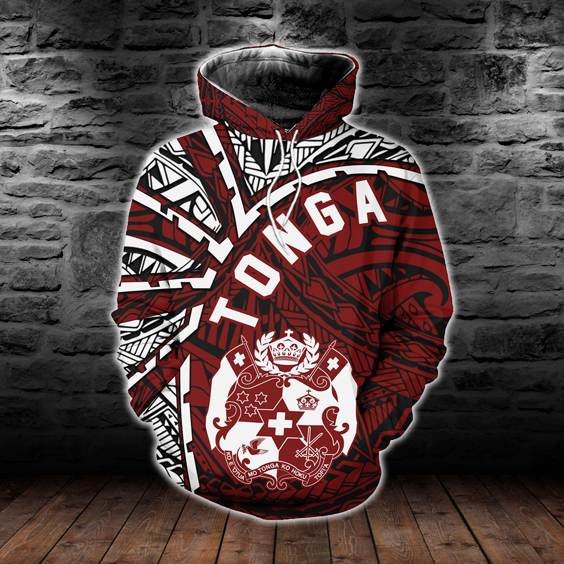 Tonga Polynesia Tornado Style All Over Print