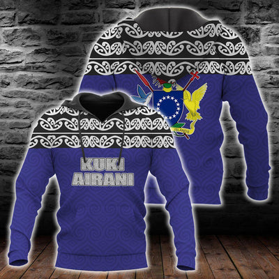 Cook Islands Maori Hoodie Version All Over Print