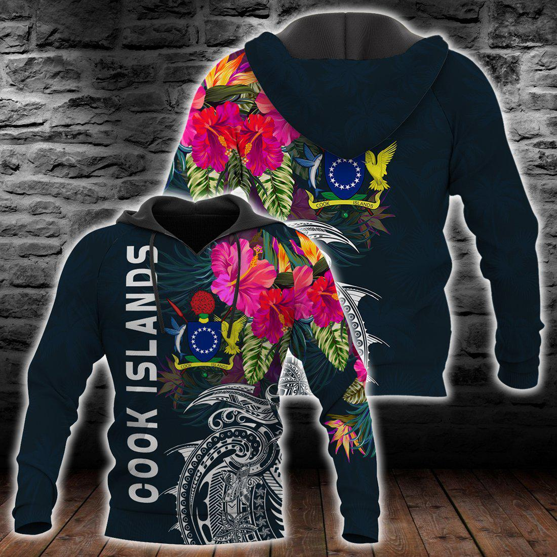 Cook Islands Summer Vibes all over print - luxamz