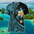 Amazing Polynesia Turtle Tattoo _ Hibiscus Harajuku Fashion 3D All Over Print - luxamz