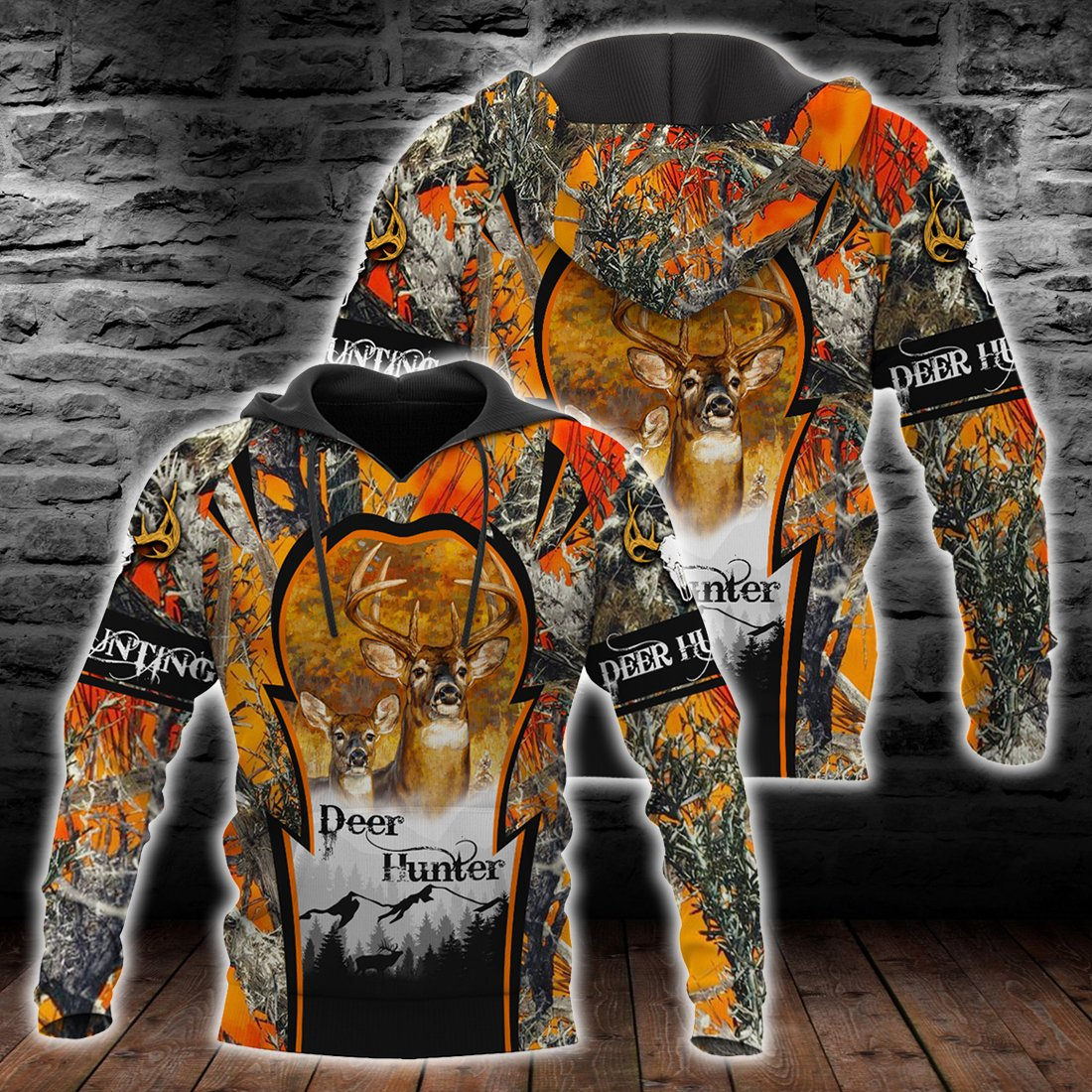 Deer Hunting Deer Hunter all over print shirts for men and women