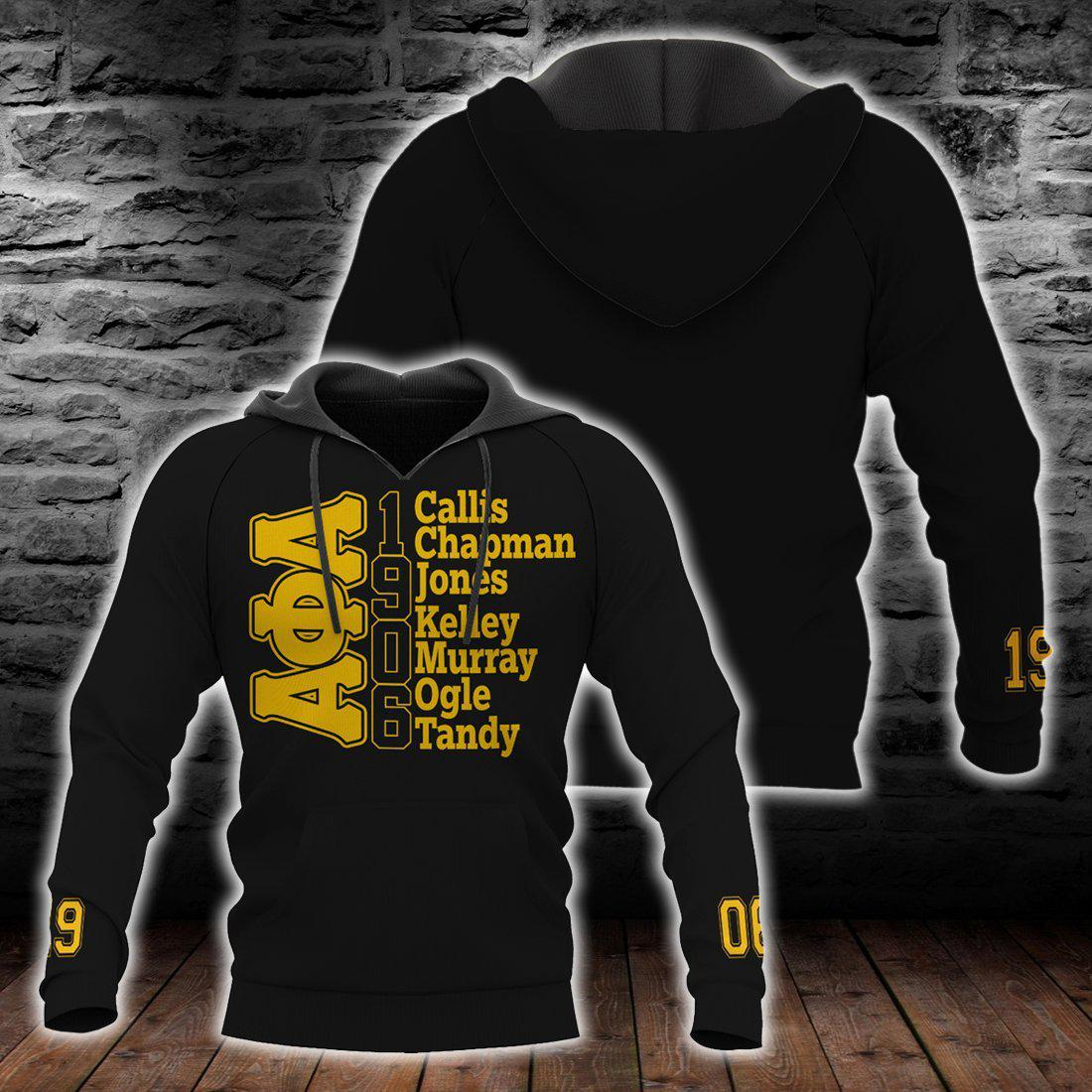 Alpha Phi Alpha 1906 All Over Printed