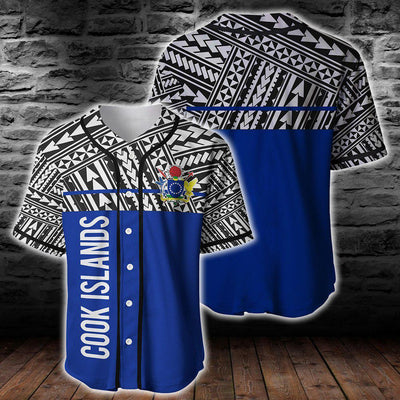 Cook Islands Coat Of Arms Polynesian Horizontal Style Clothing For Hot Summer All Over Print