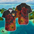 TONGA TURTLE FLOWERS HAWAII SHIRT FOR HOT SUMMERR - luxamz