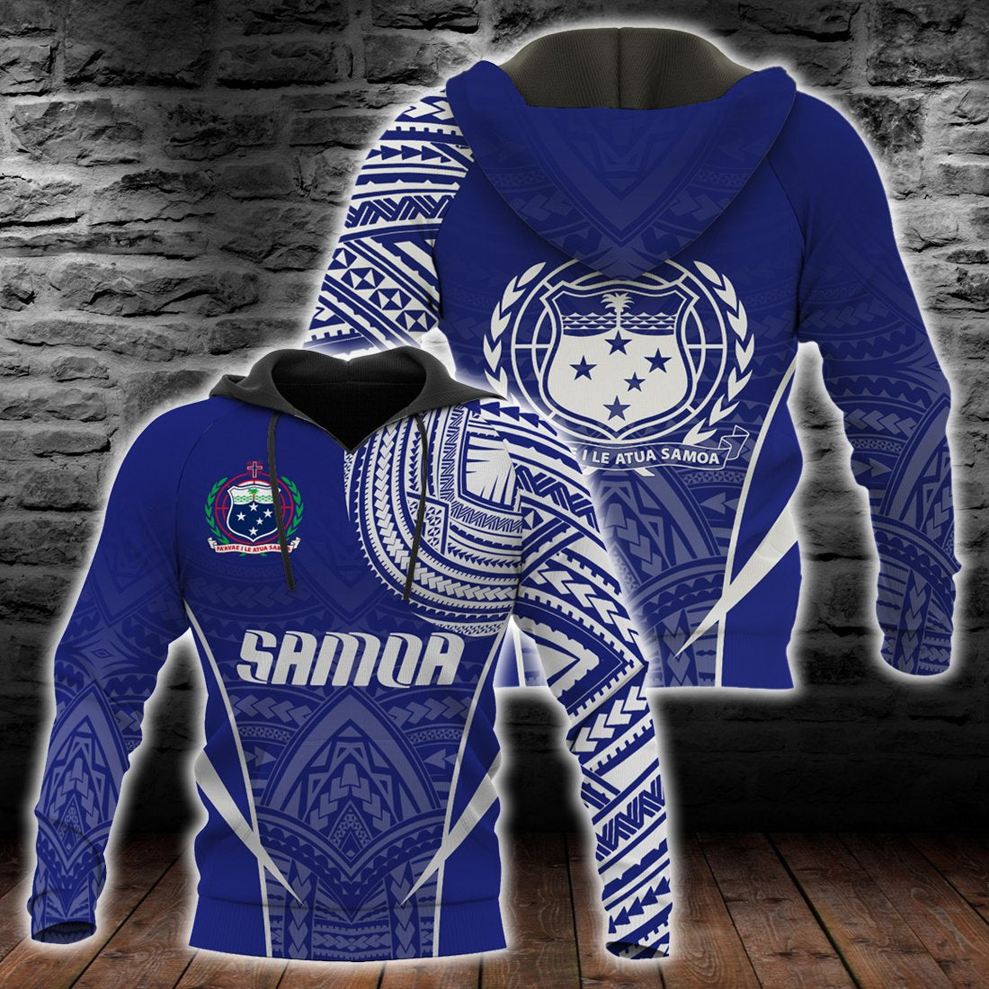 Samoa Active Special Hoodie all over print