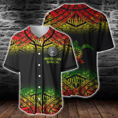 American samoa Polynesian Turtle Tattoo Clothing For Hot Summer All Over Print - luxamz