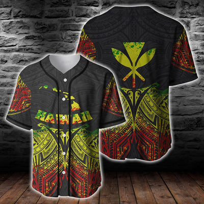 Hawaii polynesian reggae pride map and seal clothing for hot summer - luxamz