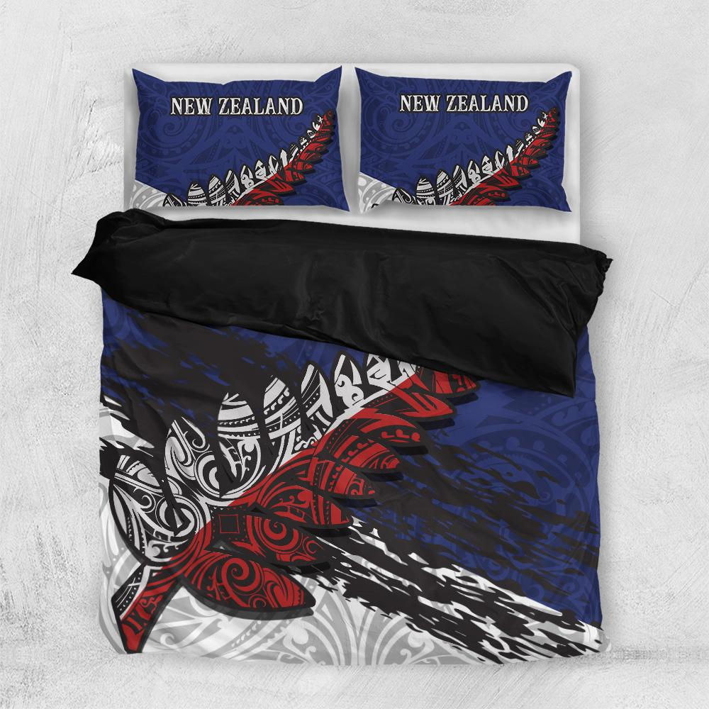 New Zealand Special Bedding Sets Polynesian All Over Printed - luxamz